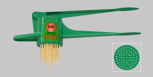 Original Kull Spaetzle-Schwob-FIX GREEN, for Spaetzle like handmade - Spaetzle Press - MADE IN GERMANY - dishwasher safe!