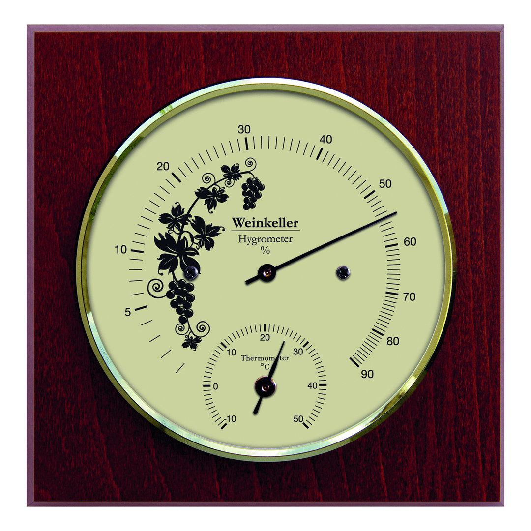 Weinkeller Hygrometer Amp Thermometer 140 Mm 1225ht 22 G 252 Nstig