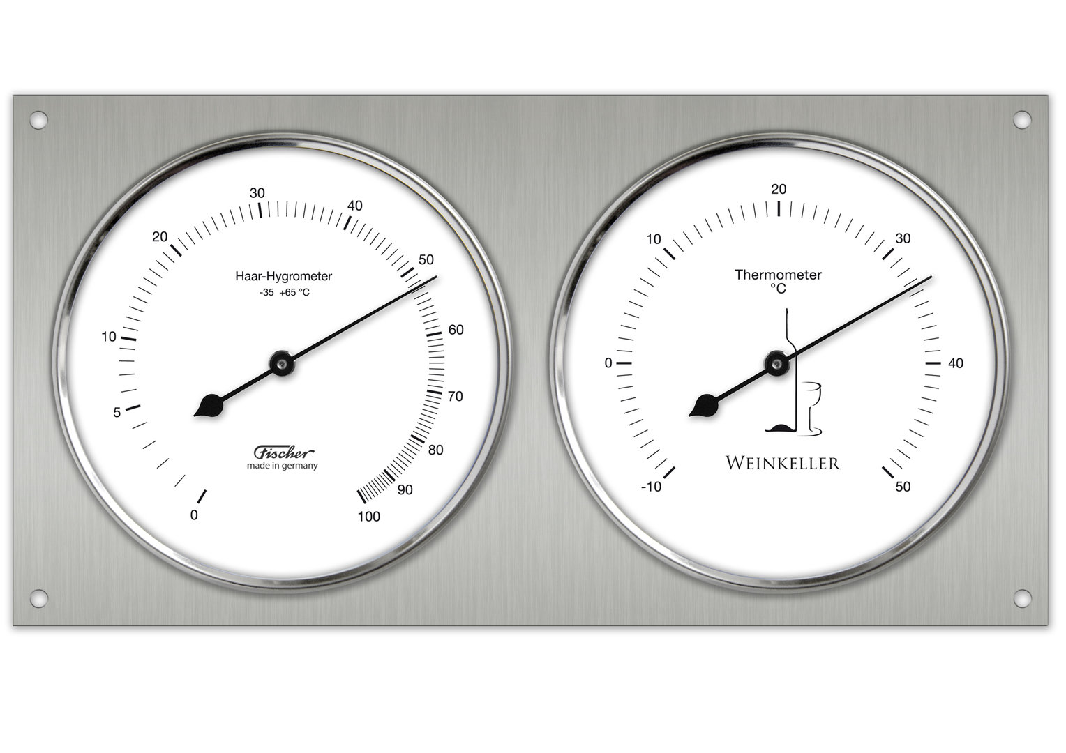 Wine Cellar Hygrometer Amp Thermometer 140 01 Made In Germany