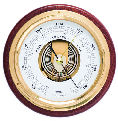 Barometer Messing/Mahagoni 170 mm - 1434B-22