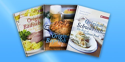 Three books: Best of Swabian/Bavarian/Baden Food