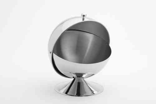 Sugar an Confectionery Bowl in Stainless Steel