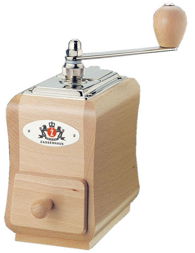 Coffee Grinder SANTIAGO, natural beech - #040098