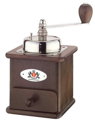 Coffee Grinder BRASILIA, dark stained - #040012