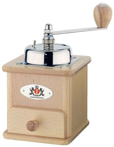 Coffee Grinder BRASILIA, varnished - #040005