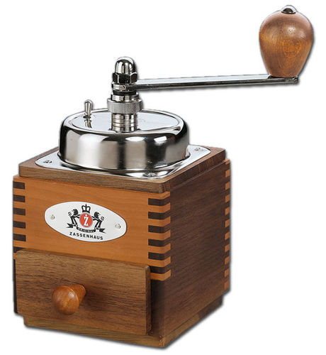 Coffee Grinder MONTEVIDEO, walnut/pear - #040234