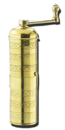 Mocca Grinder HAVANNA, polished brass - #041002