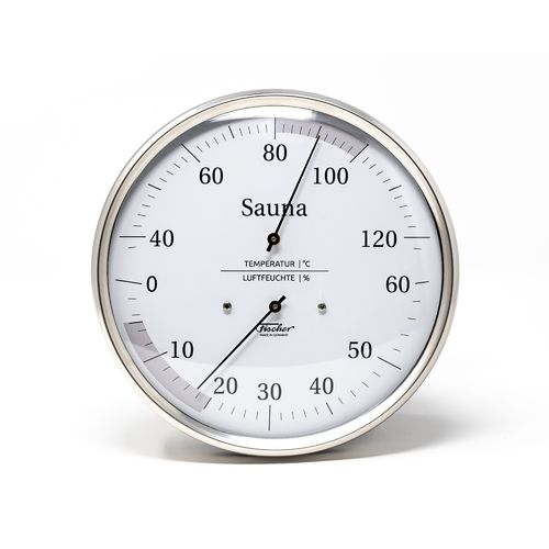 Sauna Thermometer & Hygrometer 130 mm, 194-01