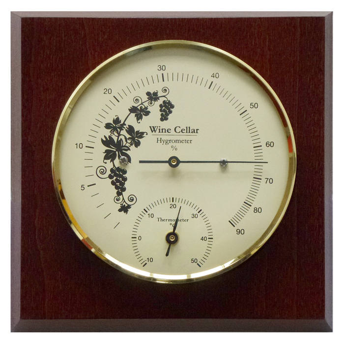 Weinkeller Hygrometer Amp Thermometer 140 Mm 1225ht 22