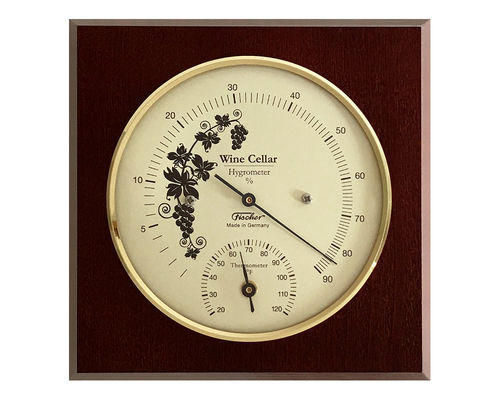 Wine Cellar Hygrometer & Thermometer 5.5 Inch, 1225HT-22 (English, °F)