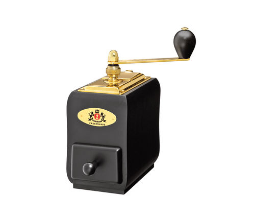 Zassenhaus Coffee Grinder SANTIAGO, Black 150 Gold - 040173