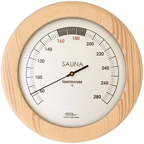 Sauna Thermometer 155 mm, 196T-03EN (English, °F)