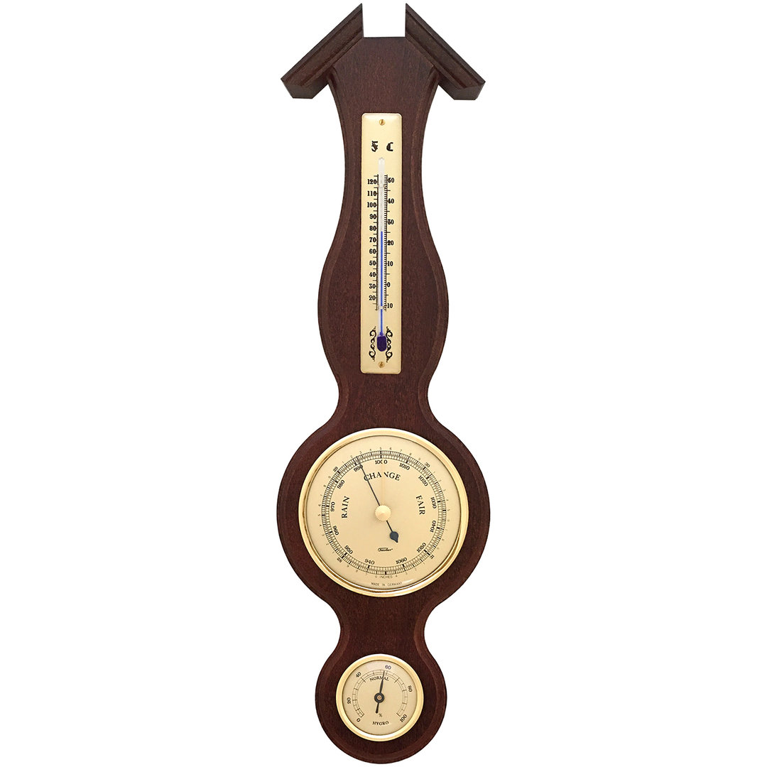 Sheraton Weather Station With Thermometer Barometer