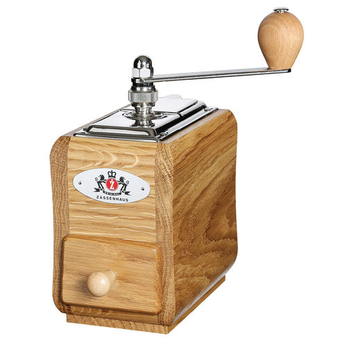 Zassenhaus Coffee Grinder SANTIAGO Oak Wood - #040227