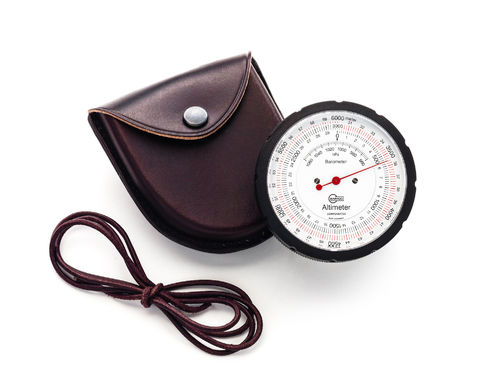 Barigo Altimeter, Leather Case - No. 29.6M