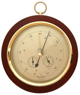 Fischer Barometer mit Thermometer & Hygrometer 200 mm - 1694R-22 (US Version / °F)